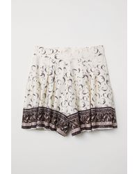 H&M - Patterned Shorts - Lyst