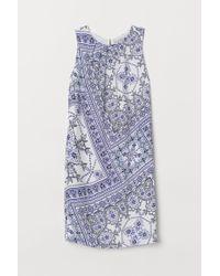 H&M Crêpe Dress - White