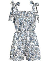 H&M Combi-short à motif - Bleu