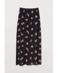 H&M Ankle-length Skirt - Black