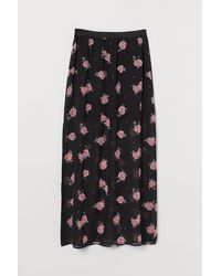 H&M Ankle-length Skirt - Black