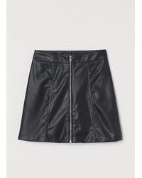 H&M Jupe trapèze - Noir