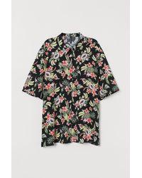H&M - Short-sleeved Shirt - Lyst