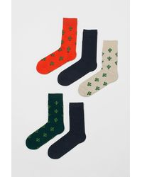 H&M Chaussettes, lot de 5 paires - Multicolore