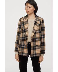 H&M Short Coat - Natural