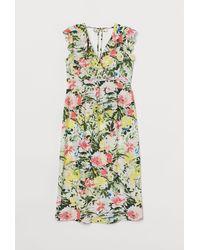 H&M Mama Short Wrap Dress - White