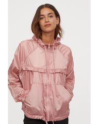 H&M Nylon Windbreaker - Pink