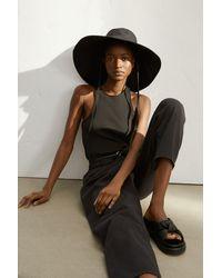 H&M Cotton Sun Hat - Black