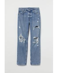 H&M 90s Boyfriend Jeans - Blau