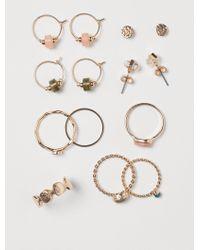 H&M Jewellery Set - Metallic