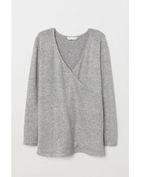 H&M - Mama Knitted Jumper - Lyst