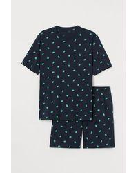 H&M Ensemble de pyjama - Bleu