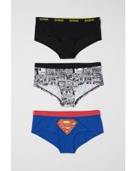 H&M - 3-pack Hipster Briefs - Lyst