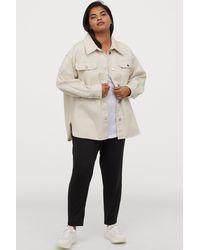 H&M + Jersey Pants - Black