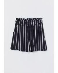 H&M Wide Shorts - Black