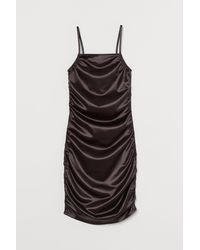 H&M Shimmery Metallic Dress - Black