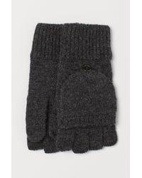 H&M Wanten/vingerloze Handschoenen - Zwart
