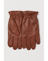 H&M Handschuhe mit Teddyfutter - Natur