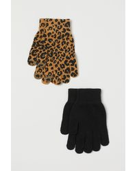 H&M 2 Paar Smartphonehandschoenen - Naturel