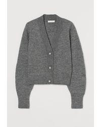 H&M Strickcardigan - Grau