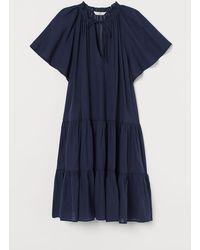 H&M Tunique en coton mélangé - Bleu