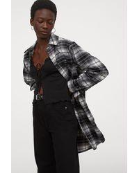 H&M Short Jersey Cardigan - Black