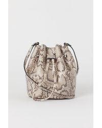 H&M Bucket Bag - Natural