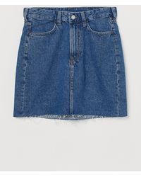 H&M Denim Skirt - Blue