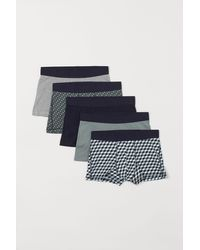 H&M 5er-Pack Kurze Trunks - Grün