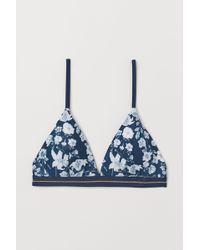 H&M - Triangle Bikini Top - Lyst