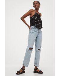 H&M Asymmetric Top - Black
