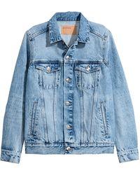 H&M Veste en jean - Bleu