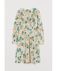 H&M Robe en crêpe de jersey - Neutre