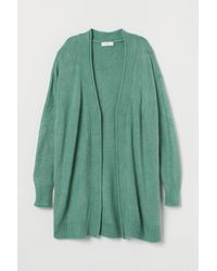 H&M - Knitted Cardigan - Lyst
