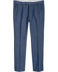 H&M Pantalon de costume Slim fit - Bleu