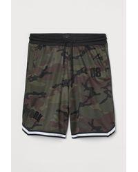 H&M Mesh Shorts - Green