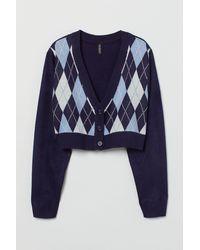 H&M Short Cardigan - Blue