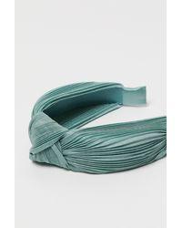 H&M Serre-tête avec détail noué - Vert