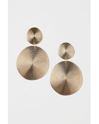 H&M - Large Earrings - Lyst