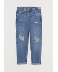 H&M Boyfriend Low Jeans - Blue