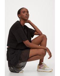 H&M Tiered Skirt - Black