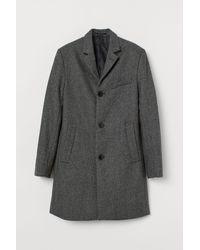 H&M Mantel aus Wollmischung - Grau