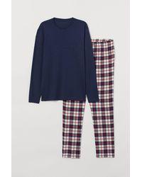 H&M Pyjama - Rot