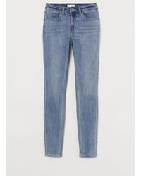 H&M Skinny Regular Jeans - Blue