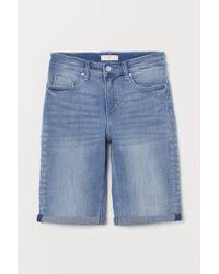 H&M Jeansshorts - Blau
