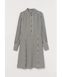 H&M Robe chemise - Blanc