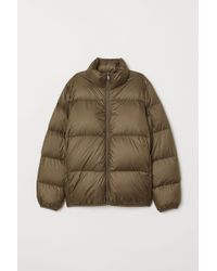 H&M Down Jacket - Green