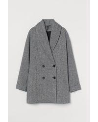 H&M Wool-blend Coat - Black