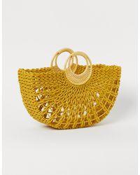 H&M Straw Bag - Yellow