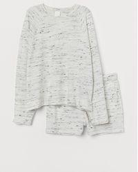 H&M Shirt und Shorts - Natur